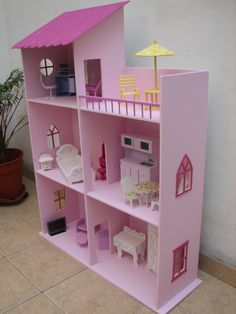 barbie provenzal - Buscar con Google Barbie Dream, Barbie House, Kids And Parenting, Barbie Furniture, Dollhouse Furniture, Diy Dollhouse, Dollhouse Miniatures, Barbie Clothes, Barbie Dolls