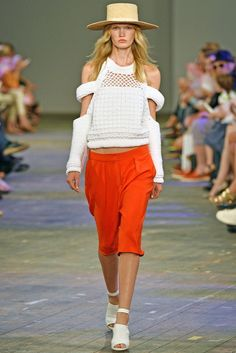 Lala Berlin RTW Spring 2014 [Photo by Getty Images for Mercedes-Benz Fashion Week Berlin]
