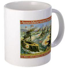 Navy Best Show On Earth Mug Mugs http://www.cafepress.com/historicmugs.1544169741