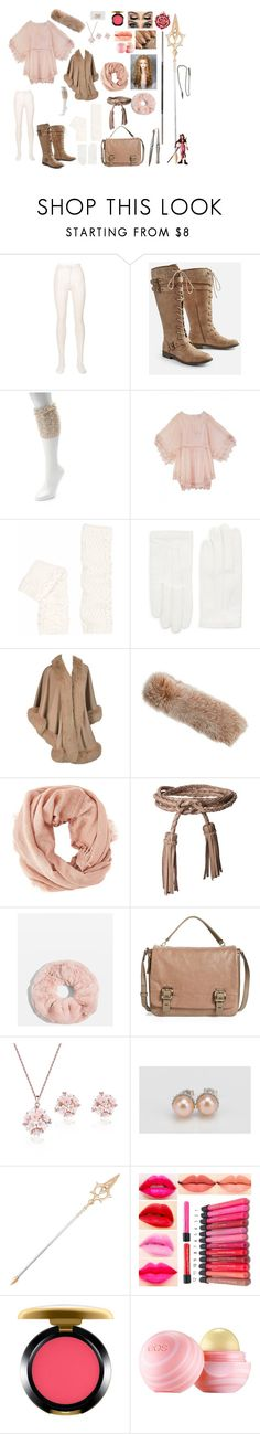 """Pearl Rosé: Atlas Academy"" by okamikun ❤ liked on Polyvore featuring Philosophy di Lorenzo Serafini, JustFab, SONOMA Goods for Life, Hayley Menzies, RED Valentino, Overland Sheepskin Co., Charlotte Russe, ADA Collection, Topshop and Vince Camuto"