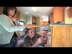Have you ever wished you had more counter space in your RV? Here is a great solution that I have even used. Works great..