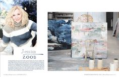 Jessica Zoob featured in 'Where Women Create' - Jessica Zoob