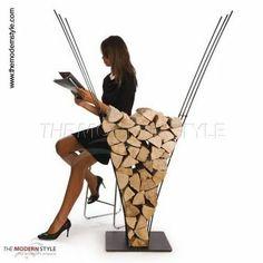 Soporte para la madera - Arquitectura de Casas: Calefacción