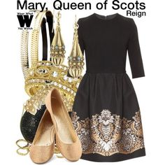 Inspired by Adelaide Kane as Mary, Queen of Scots on Reign - Shopping info!