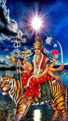 Durga Kali, Shiva Shakti, Indiana, Cool Pencil Drawings, Navratri Images, Ganesha Pictures, Ganesha Art, Goddess Lakshmi, Hindu Deities
