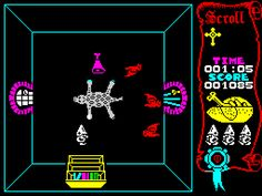 Atic Atac is a single player shooter, maze game for ZX Spectrum, published in 1983 by Ultimate Play The Game. Player One, Single Player, Computer Video Games, Maze Game, School Videos, Childhood Days, Retro Video Games, Old Games, Classic Films