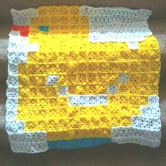 Duckie Granny-Square Baby Afghan