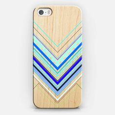 Aztec Blue Artist Collection iPhone 5/5S Phone Case by House of Jennifer on Casetify, In Stock (Free Delivery Worldwide) http://www.casetify.com/houseofjennifer/collection #Casetify