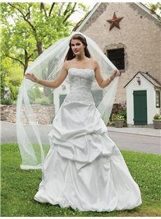 Adelaide Elegant Ball-Gown Square Sleeveless Blackless Chapel Train Floor-Length Beading Wedding Dress