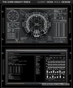'The Dark Knight Rises' User Interface Designs Revealed