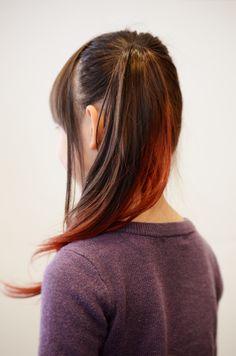 Long gradation color