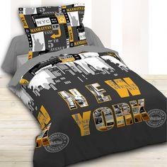 Parure de lit New York Stores, Decoration, Comforters, Nyc, Blanket, Bedroom, Home, Bedding, Bed Linens