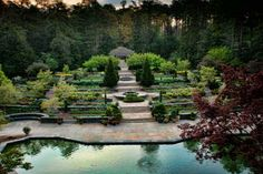 Besides the gardens of Fearrington.. more beautiful garden to visit in the area are The Sarah P. Duke Gardens -- Durham, NC.