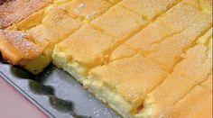 Ingredience 500 g měkkého tvarohu 450 g zakysané smetany 100 g másla 8 vajec 7 lžic hladké mouky 7 lžic cukru krystal Citrónovou kůru z 1 citronu Podle chuti ořechy nebo rozinky Meruňková marmeláda Práškový