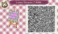 Este es un QR Code para Animal Crossing, creado por mí; como podéis observar, es una losa floral en color morado claro. [7-17]  Lo podéis encontrar en mi canal de YouTube: https://www.youtube.com/channel/UCh6uwa2CjSgR4WQ-ghRQY6Q (Roxy).  ¡Espero qué os guste! ;)