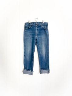Vintage Lee Jeans - Vintage Jeans - Lee Rider Jeans - High Waisted Jeans - 90s Jeans - Straight Leg