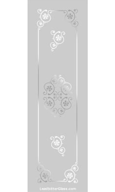 Any of our Victorian / Traditional etched glass designs can be incorporated into any glass design and in most glass sizes. We specialise in bespoke decorative glass so the designs are here for your inspiration. Etched Glass Door, Stained Glass Door, Glass Etching, Window Glass Design, Frosted Glass Design, Kitchen Glass Doors, Best Interior Paint, Interior Design, Pooja Room Door Design
