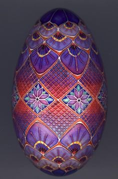 Faberge Egg STUNNING COLOUR COMBINATION & A BEAUTIFUL EGG IN EVERY WAY...I'M IN LUST<3<3<3 @