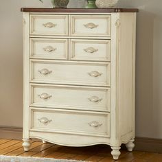 Like this idea for painted dresser