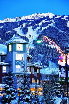 Whistler Ski Resort by Crystal Ski, via Flickr  #whistler @explorecanada