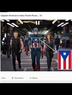 Captain America, Puerto Rican