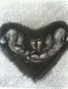 My next tattoo... In honor of my babies who I never got to hold...