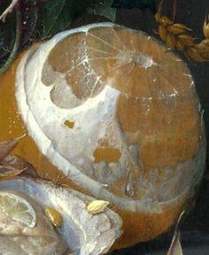 """""""Natureza Morta"""" (pormenor) (1665)- Pintura de Jan Davidsz de Heem  - Holanda."""