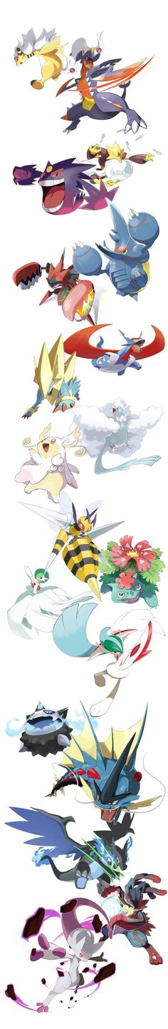 Here is a list of new Mega Pokemon artworks that I've been working so far! Although Mega Pokemon is discontinued,. Pokemon Comics, Pokemon Funny, Pokemon Memes, Pokemon Team, Pokemon Fan Art, Fire Pokemon, Original Pokemon, Pokemon Cards Legendary, Deviantart Pokemon