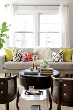 Etsy WestEndAccents' Designer Guild Orangerie Pillow on thedecorfix.com