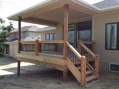 West Baywood-Cedar-Aluminum Spindle-Omaha, Ne-NRT Contracting