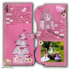 Chattering Robin's: Princess Mini Book
