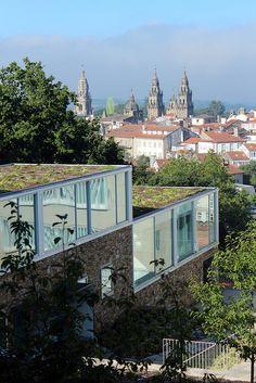 Apartment complex. Santiago de Compostela, Spain.by runngrrl, via Flickr