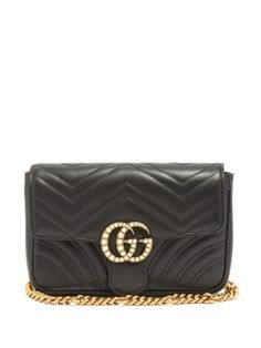 Click here to buy Gucci GG Marmont quilted-leather belt bag at MATCHESFASHION.COM