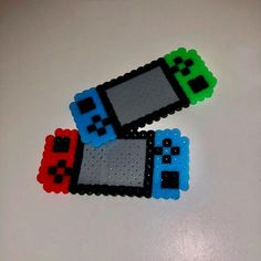 Perler Bead Designs, Melty Bead Designs, Easy Perler Bead Patterns, Perler Bead Templates, Hama Beads Design, Pearler Bead Patterns, Easy Perler Beads Ideas, Pokemon Perler Beads, Perler Bead Mario