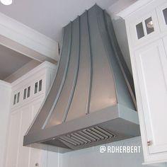 Custom Rheinzink #kitchen #hood
