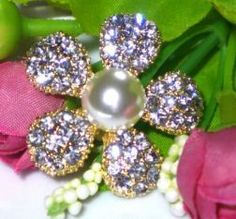 Chaton de cristais Flor 5 pétalas