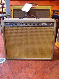 FENDER/USA[フェンダー/ユーエスエー] DELUXE AMP BROWNFACE|詳細写真