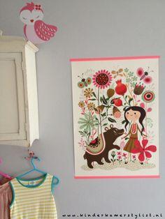 #Poster #kids | Helen Dardik inspiration Kinderkamerstylist.nl