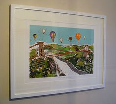 'Balloons over the Bridge' limited edition