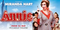 Miranda Hart makes her West End debut as the infamous Miss Hannigan in a new production of the beloved Broadway musical Annie. Directed by Nikolai Foster, Annie opens at the Piccadilly Theatre in May 2017, for a London season.  Based on the comic strip Little Orphan Annie, the musical charts the journey of Annie as she goes from forgotten orphan to daughter of a billionaire. Set in 1930's New York, during the Great Depression, Annie and her fellow orphans are forced to live a life of misery.