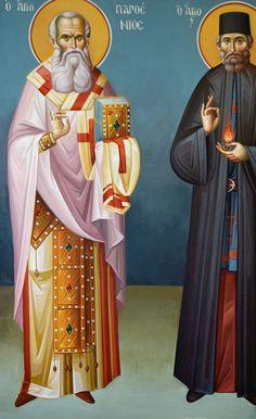Byzantine Icons, Nashville Tennessee, Athens Greece, Orthodox Icons, Ikon, Fresco, Saints, Creative, Artists