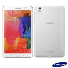 """Samsung Galaxy TabPro 8.4 Branco com Android 4.4, tela de 8.4"""" de alta resolução, Processador Octa Core e Wi-Fi - SM-T320N"""