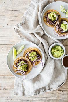 Easy Black Bean Vegan Street Tacos   edibleperspective.com
