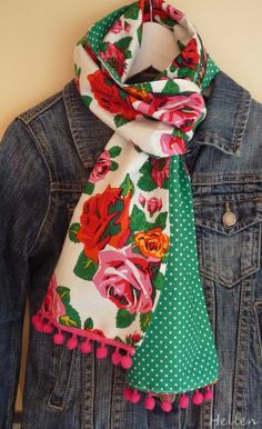 Great scarf. ♥