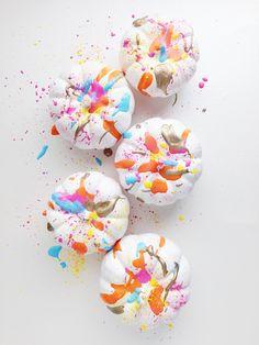 Painted Splatter Pum