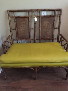 Vintage Rattan Settee New Divide U0026 Conquer Sale Starting This Thursday, May  28 30