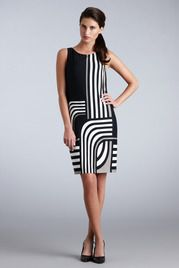 Winding Stripes Sheath