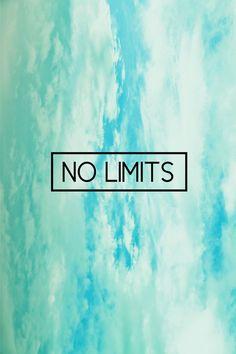 ∆  NO LIMITS // ∆