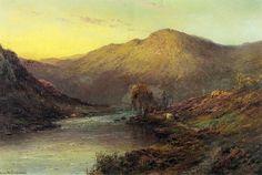 Alfred de Breanski, Sr. - Near Dunkeld