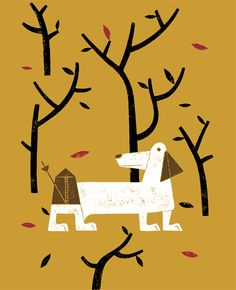 Children's books illustrations by Duvivier Jean-Manuel, via Behance